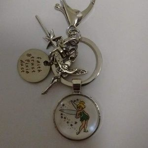Accessories - Disney Peter Pan Tinkerbell Keychain/Purse Dangle